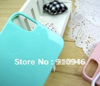Free Shipping Phone Add Dorothy Pastel Candy Color Slim Hard Plastic Case for iPhone 5 5S Glossy Painted Case Cover