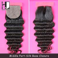 Silk Base Closure Brazilian Hair 100% Human Hair Wigs Natural Wave Free Shedding Free Tangle Free Shipping