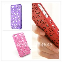 A4 New Scattered heat supply network shell latticed shell case for iphone 4s