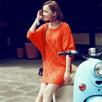 Free shipping  New Excellent  quality, New style women ladies  Bat Sleeve Knitsweater sweater retali & wholesale#12426