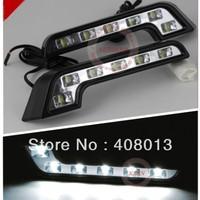 High Power 6W Car LED daytime running light 100% waterproof E4 DRL LED car fog Lamp Pure White