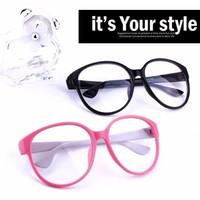 2013 eyeglasses frame Fashion Round Hello kitty frame Vintage Plain Glass Spectacles Optical Frame For Women Men Decoration y228