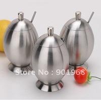 stainless steel cruet 3pcs set-cruet set-kitchen ware-spice jar-condiment container