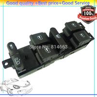 Free Shipping New Master Power Window Switch LKQ 9P Fits VW Golf Jetta Passat 1J4 959 857B (VW031) Wholesale/Retail