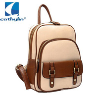 Free Shipping!High Quality and Large Pocket Size Ladies Leisure Backpack  4 colors women's cute PU leather school bags!