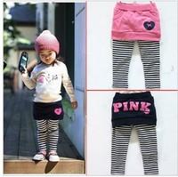 5pcs/lot Pants & Capris baby girls leggings children's pants skirt ,PP pants,children's trousers girls skirt-pants