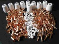 305 pcs consumables for plasma cutter torch PT31 of cut40 cut30 cut50 CT520 520TSC welding machine