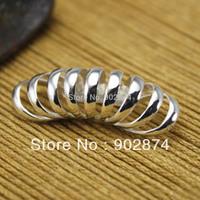 2pcs fashion Ear Stud Ear Cuff Silve Ear Clips 9 band Globoidal Earrings jewelry Accessories present for men/women Brand New 14#