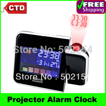 High Quality With Cheap Price Mini Desktop Multi-function Weather Station Projection Alarm Clock