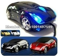 GOOD JOB / Free Shipping / Wholesale Car Shape USB 3D Optical Mouse / Computer Laptop Mice Gaming Optical Mouse