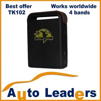 2013 NEW TK102 Mini GPS Tracker,FULL KIT with GIFT BOX for resell,850/900/1800/1900MHZ,best offer!!
