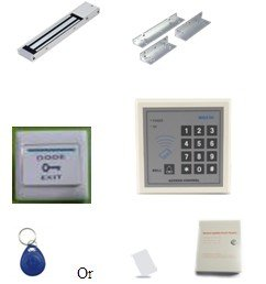 Proyu's Electric Door Lock Magnetic Access Control ID Card Password System