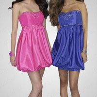 Free Shipping New Ladies' Shinning Princess Off  Shoulder Mini Chiffon Dress For Cocktail Bridesmaid Evening Party LF084