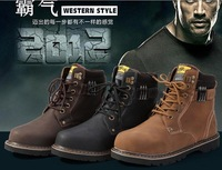 2012 hot selling winter snow mens sport high walking locomotive shoes fashion snow ankle boots