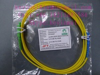 2 meters length optical fiber jumper pigtail SCA-SCP or SC/APC-SC/PC Connector single mode