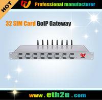 8 Port 32 SIM Card VoIP GSM Gateway Gateway,Free shipping