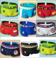 2014 Brasil World Cup National Flag Men's Underwear,(ARGENTINA,BRASIL,DEUTSCHLAND,NETHERLANDS,ESPANA,ENGLAND) !