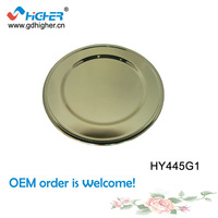 High Class Stainless Steel  Wedding Plate charger plates wholesale