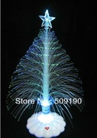 12 pcs/lot Free shipping 4colors fiber scintillation bright Christmas tree decoration shinning tree gift