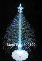 12 pcs/lot Free shipping 4colors fiber scintillation bright Christmas tree decoration shinning tree gift