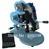100% New Manual coding machine DY-8 with Gift English letters and ribbons