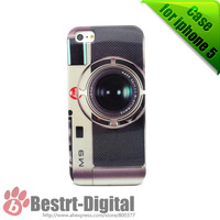 1Pcs Only, Hot Camera Design, Hard case for iphone 5/5S, Best Protection, Best sell, Old Fashion, Cell phone case