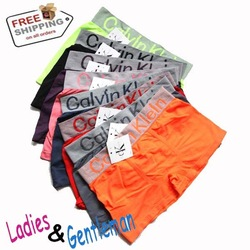 HOT sales 2012 Newest style 9 colors Pop style Brand Name Seamless men&#39;s boxers 10pcs/lot(China (Mainland))