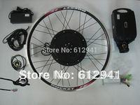 36v500w ebike conversion kits + 36v 10ah battery + led display , ebike kit