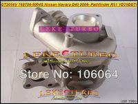 GT2056V 769708-5004S 769708 14411-EC00C Turbo Turbocharger For NISSAN Navara D40 2006- Pathfinder R51 YD25 YD25DDTi 2.5L 171HP