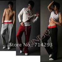 2013 Korean New Men's Cotton Casual Long Pants Sports trousers Wholesale Free shipping 5288