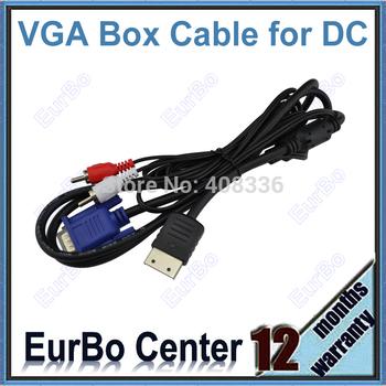 High Definition VGA Box AV Cable for SEGA Dreamcast DC