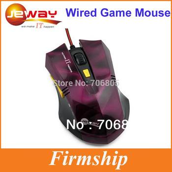1pcs/lot Healthy Ergonomic Design Purple Wired Gaming Mouse Car Shape USB 6D Optical Mouse