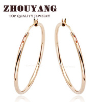 ZYE093 Hoop Earrings 18K Rose Gold Plated Earring Top Quality Factory Price  Wholesale