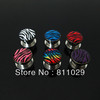 New Hot body jewelry 16pcs ear gauges zebra logo printed ear tunnel stainless steel screw on Flesh Tunnel free shipping