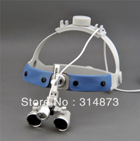 Free Shipping 3.5X Headband Binocular  Dental Surgical Loupes with 1W SZ-1 High brightness  Dental Medical Surgical Headlight