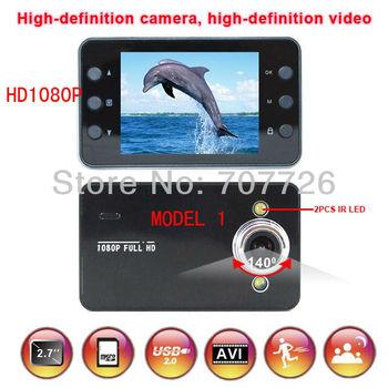 MODEL 1 1920*1080p 25FPS good Car DVR night vision car black box / MODEL 2 720P (Interpolation) 1920*1080 Car Camera  k6000