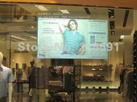 Self adhesive Rear holographic projection screen film,  rear projection film free shipping