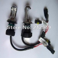 Hot wholesale (2 pieces/lot) qualified 100% reasonable 9-16V AC 35W economy HID bi-xenon H4 6000K 8000K Hi/Lo car xenon lamp