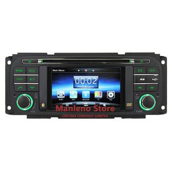 Brand New 4.3'' Car DVD Player GPS Navigation for Dodge Ram Jeep Grand Cherokee Wrangler Chrysler Sebring 300M Radio Bluetooth