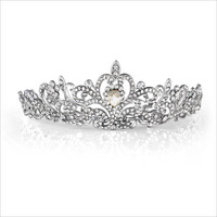 2014 Free Shipping Affordable High Quality Vintage Crystal Rhinestone Wedding Jewelry Bridal Tiara Hair Jewelry