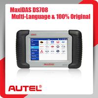 [Authorized Distributor] 2014 Auto Scanner Autel MaxiDAS DS708 update via internet full package 100% original DS 708 Code Reader