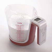 Cooking Tools Measuring Cups Digital Kitchen Scales with 1000ml Cup Volume and 3kg/6.6lbs Capacity