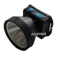 LED Lithium Battery Mining Safety Helmet Lamp Cree Led Headlamp Free Shipping