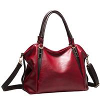 2014 women messenger bag new women handbag fashion genuine leather portable shoulder bag Hot Bag Vintage Handbag 5 Colors Gift