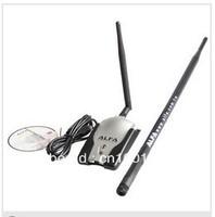 free shipping alfa adapter 2dBi&8dBi Antenna ralink 3070 150Mbps Luxury Alfa AWUSO36H Wireless Adapter(Grey Package)