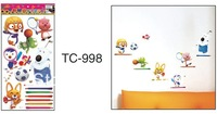 33x60cm Cute Athletic Children's Cartoon Stickers Bedroom Bedside Background Wall Stickers KW- TC998