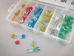 Free Shipping Hardware 120PC 5,10,15,20,25,30A Mini Car&amp;Auto Fuse Assortment/Kit/Set(China (Mainland))