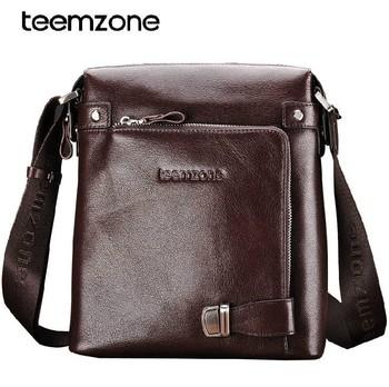 New fashion men shoulder bag High Quality 100% genuine leather man messenger bag business bag free shipping 8009
