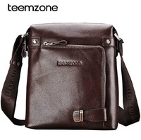 New fashion men shoulder bag High Quality 100% genuine leather man messenger bag business bag free shipping 8009