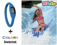 10pcs Silicone Ion Sport Children Watches KIDS boys girls  Silicon Jelly Rubber Fashion 3ATM waterproof  Wholesale LOT